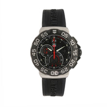 Load image into Gallery viewer, Tag Heuer F1 CAH1010 Chronograph Steel & Black Quartz 43mm Mens Watch