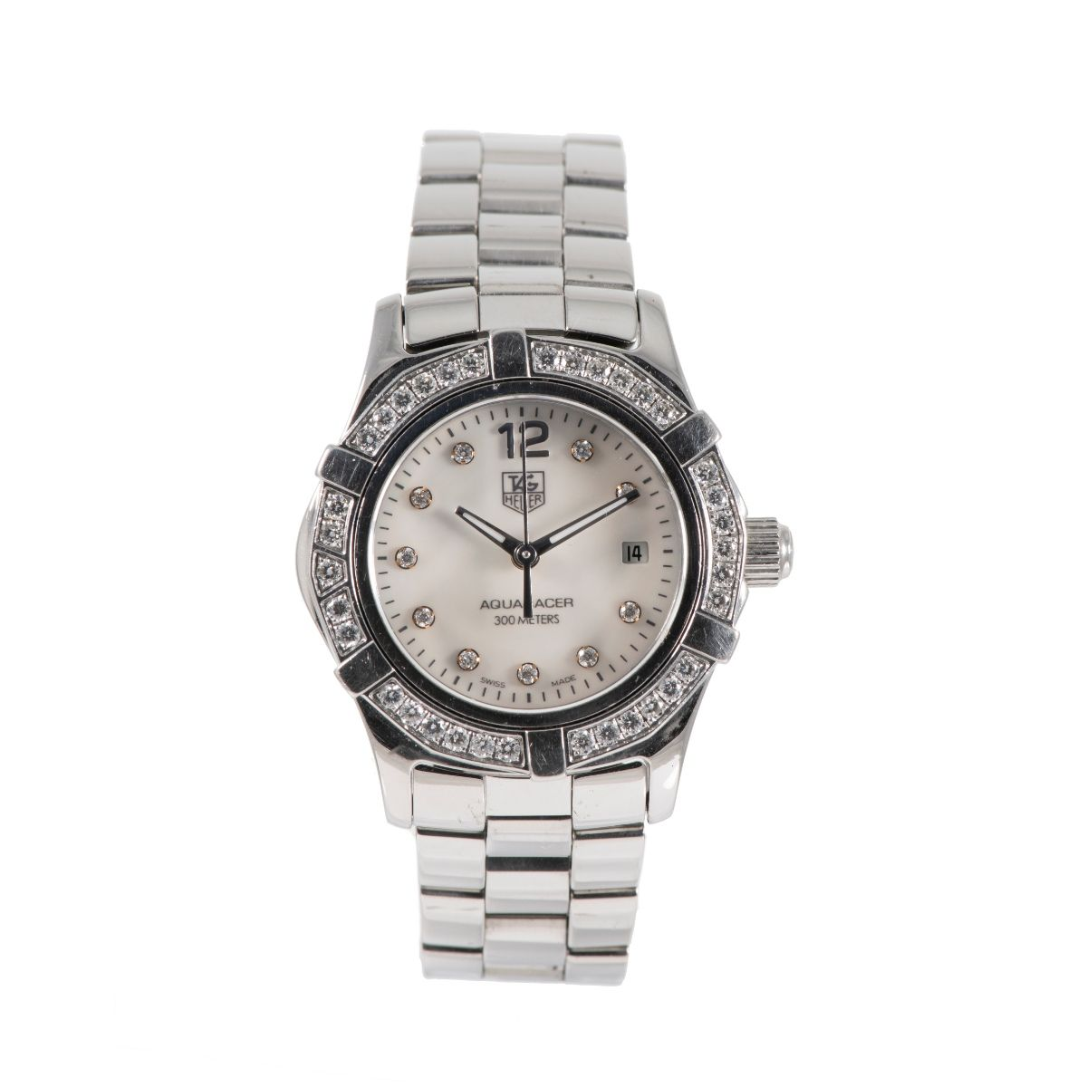 Tag Heuer Aquaracer WAF1416 Steel & Diamond Ladies Watch