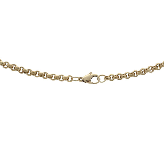 9ct Yellow Gold Mens Belcher Chain 20""