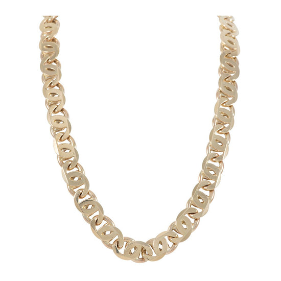 "Mens 9ct Gold Fancy Necklace (26"")"