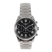 Load image into Gallery viewer, Longines Master Collection L2.629.4 Steel & Black 40mm Mens Watch