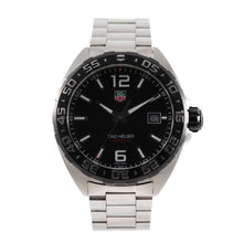 Load image into Gallery viewer, Tag Heuer F1 WAZ1110 Stainless Steel and Black 41mm Mens Watch