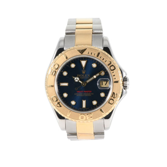 Rolex Yacht Master 168623 Bi-Colour & Blue 35mm Mens Watch