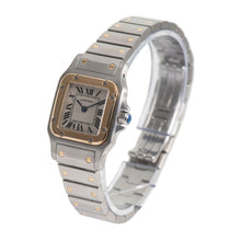 Load image into Gallery viewer, Cartier Santos Galbee 1567 Bi-Colour & Cream 23.5mm Ladies Watch