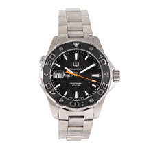 Load image into Gallery viewer, Tag Heuer Aquaracer WAJ1110 - 43mm Stainless Steel Mens Watch