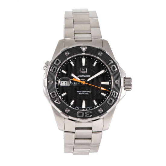 Tag Heuer Aquaracer WAJ1110 - 43mm Stainless Steel Mens Watch