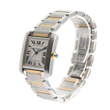Load image into Gallery viewer, Cartier Tank Francaise 2302 Bi-Colour & Grey Automatic 27mm Ladies Watch