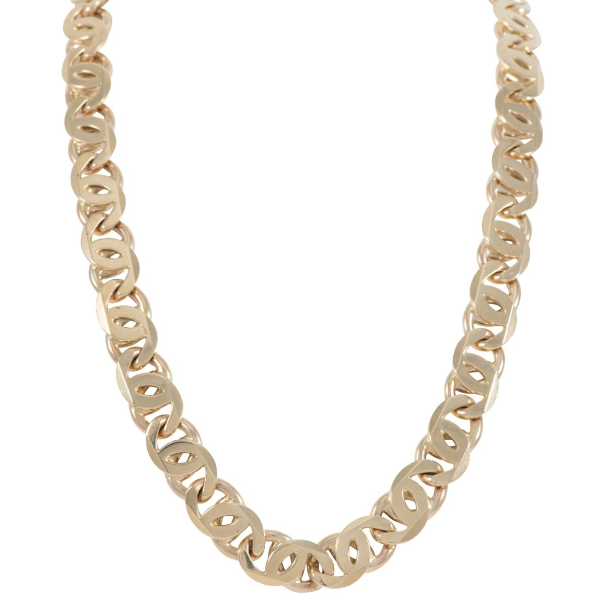 Mens 9ct Gold Fancy Necklace (26