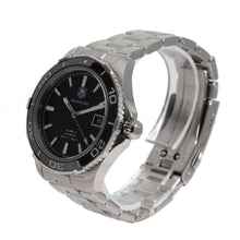 Load image into Gallery viewer, Tag Heuer Aquaracer WAK2110 Steel & Black Automatic 41mm Mens Watch
