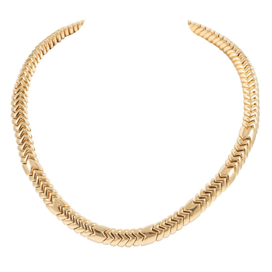 "18ct Yellow Gold Decorative Ladies Chain (20"")"