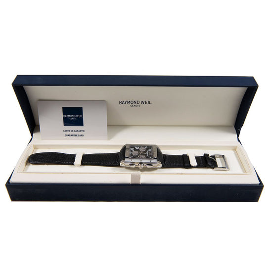 Raymond Weil Tango 4881 Stainless Steel Mens Watch 34mm