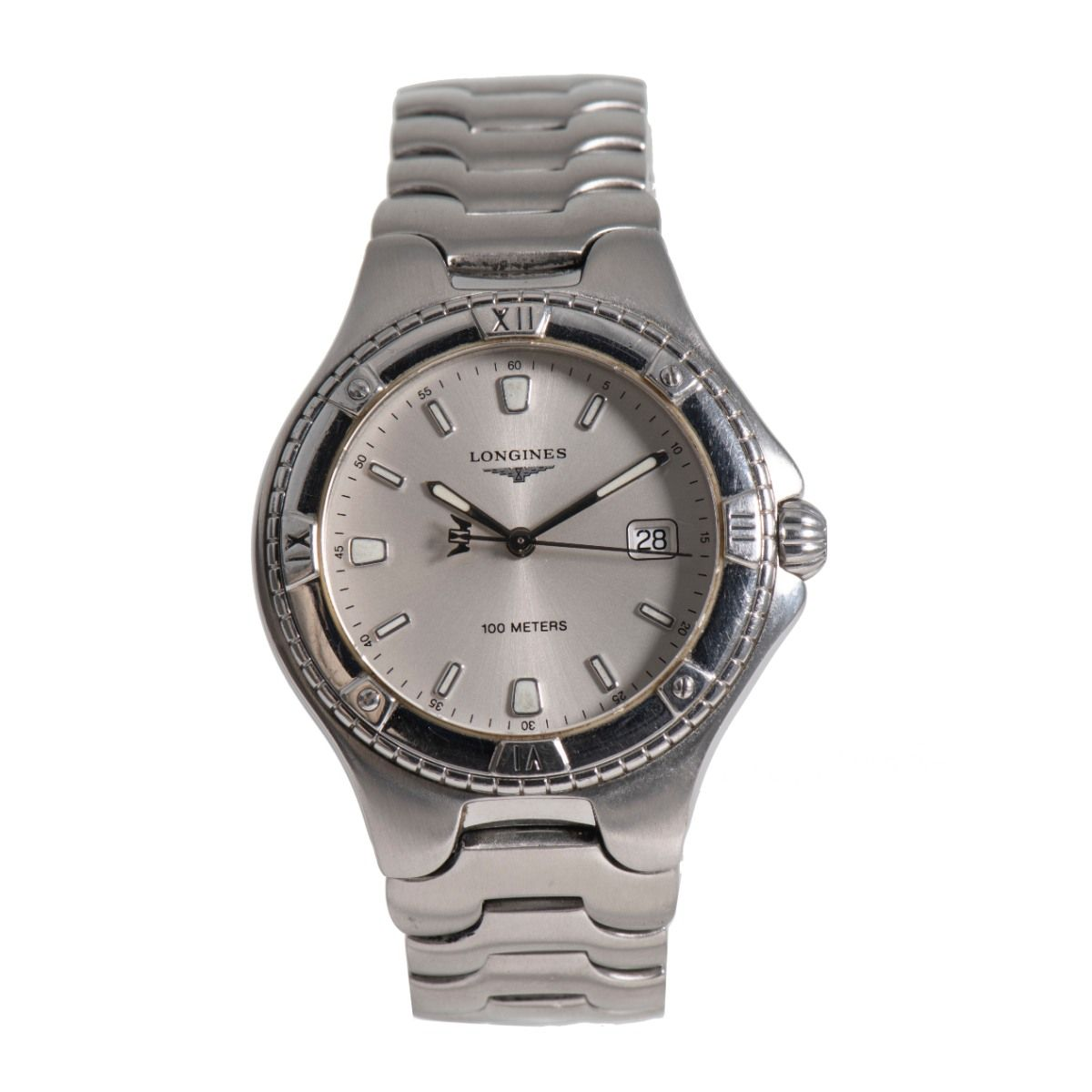 Longines Conquest L3.612.4 Steel & Grey 38mm Mens Watch