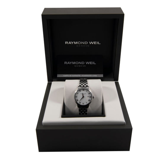Raymond Weil Toccata 5988 Stainless Steel & Cream 29mm Ladies Watch