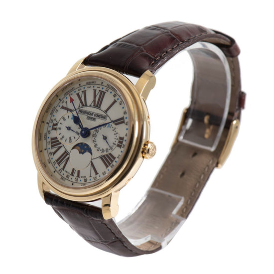 Frederique Constant Business Timer FC-270X4P4/5/6 Moon Phase Watch