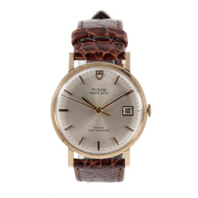 Load image into Gallery viewer, Tudor Prince Date 9850 9ct Gold & Grey 34mm Mens Watch