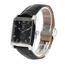 Load image into Gallery viewer, Tag Heuer Monaco WW2110-0 Black Automatic 37mm Mens Watch