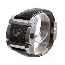 Load image into Gallery viewer, De Grisogono Instrumento Novantatre Steel and Black Automatic 40mm Mens Watch