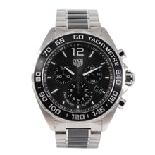 Load image into Gallery viewer, Tag Heuer F1 CAZ1011 Steel & Grey 43mm Mens Watch