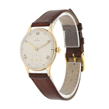 Load image into Gallery viewer, Omega Vintage 9ct Gold and Grey 31mm Mens Watch