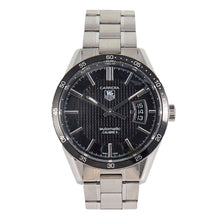 Load image into Gallery viewer, Tag Heuer Carrera WV211M Steel & Black 39mm Mens Watch