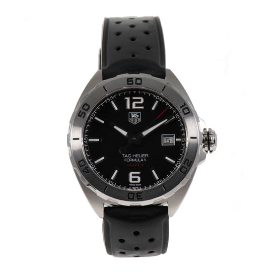 Tag Heuer Formula 1 WAZ2113 Black Automatic 41mm Mens Watch