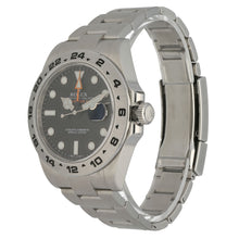 Load image into Gallery viewer, Rolex Explorer II 216570 Steel & Black 42mm Mens Watch