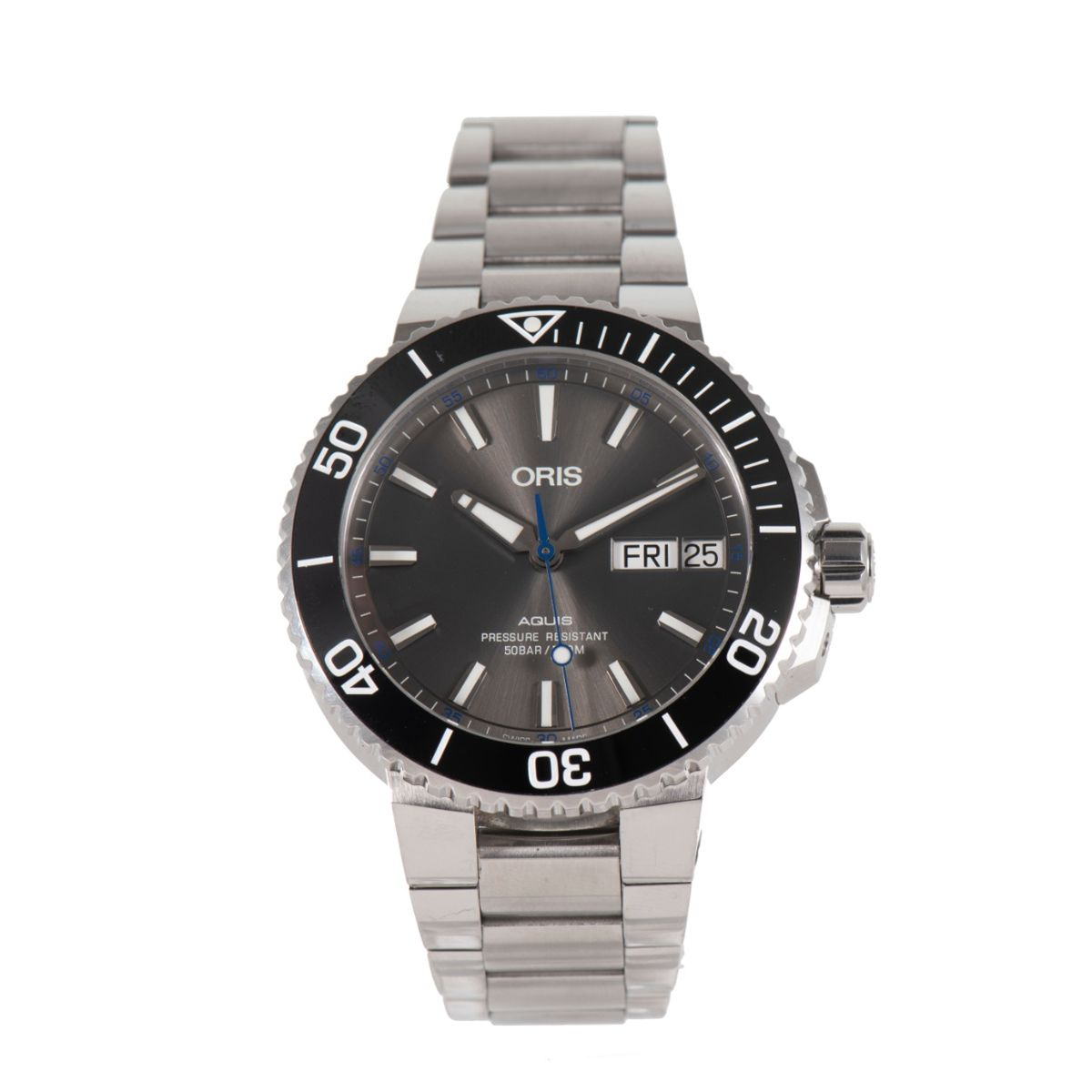 Oris Aquis Big Day Date 7733 Steel 45mm Automatic Mens Watch