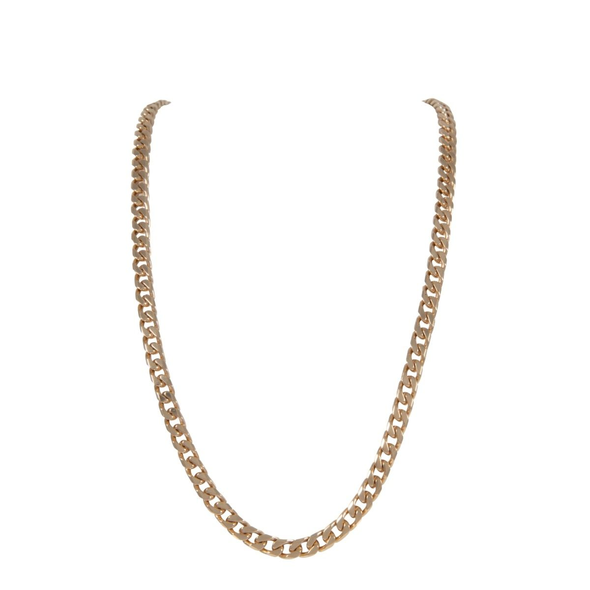 9ct Yellow Gold Mens Curb 24 inches Chain