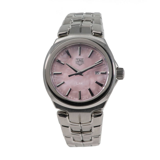 Tag Heuer Link WBC1317 Steel & Mother of Pearl 32mm Ladies Watch