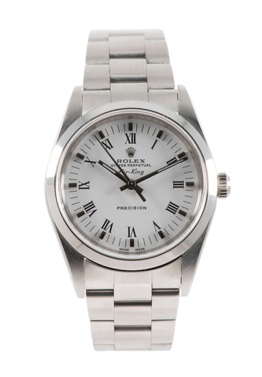 Rolex Air King 14000M - 34mm Stainless Steel Mens Watch