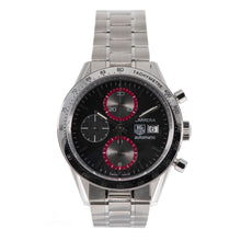 Load image into Gallery viewer, Tag Heuer Carrera CV201AB Chronograph Steel & Black 41.5 Mens Watch