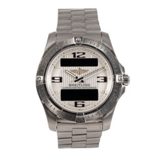 Load image into Gallery viewer, Breitling Aerospace E79362 Titanium & Cream 42mm Mens Watch