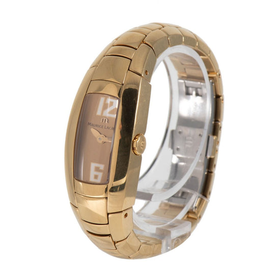Maurice Lacroix Intuition IN3012 Gold Plated & Champagne 20mm Ladies Watch