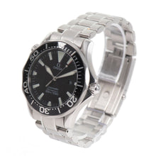 Load image into Gallery viewer, Omega Seamaster Stainless Steel & Black 41.5mm Mens Watch