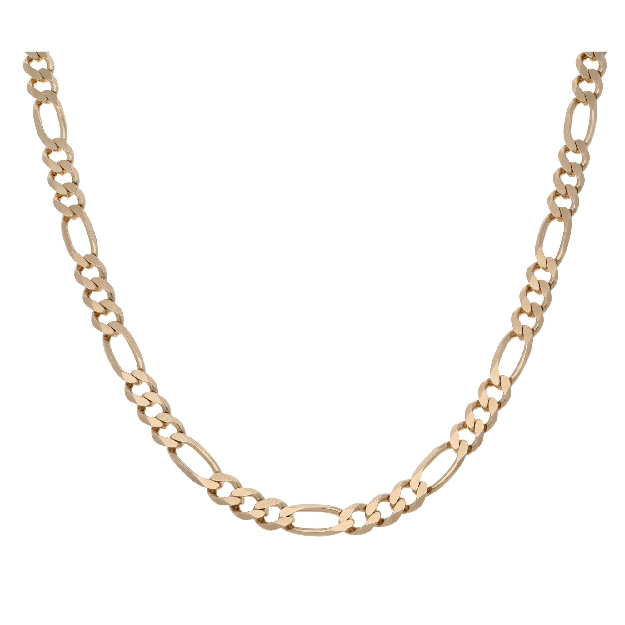 9ct Gold Ladies Curb Chain 16