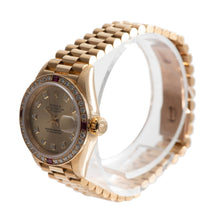 Load image into Gallery viewer, Rolex Datejust 69068 26mm Champagne Diamond Dial & Yellow Gold Automatic Ladies Watch