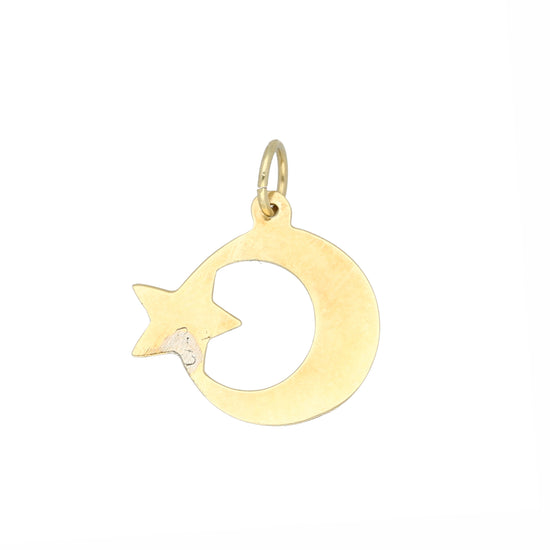 14ct Gold Ladies Alternative Pendant