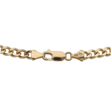 Load image into Gallery viewer, 9ct Gold Unisex Curb Chain 24""