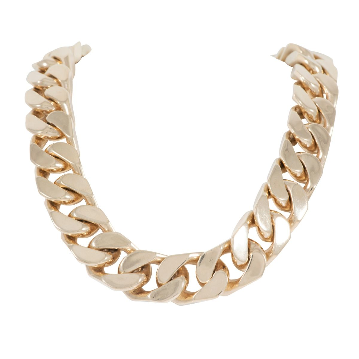 9ct 24 inches Yellow Gold Mens Curb Chain