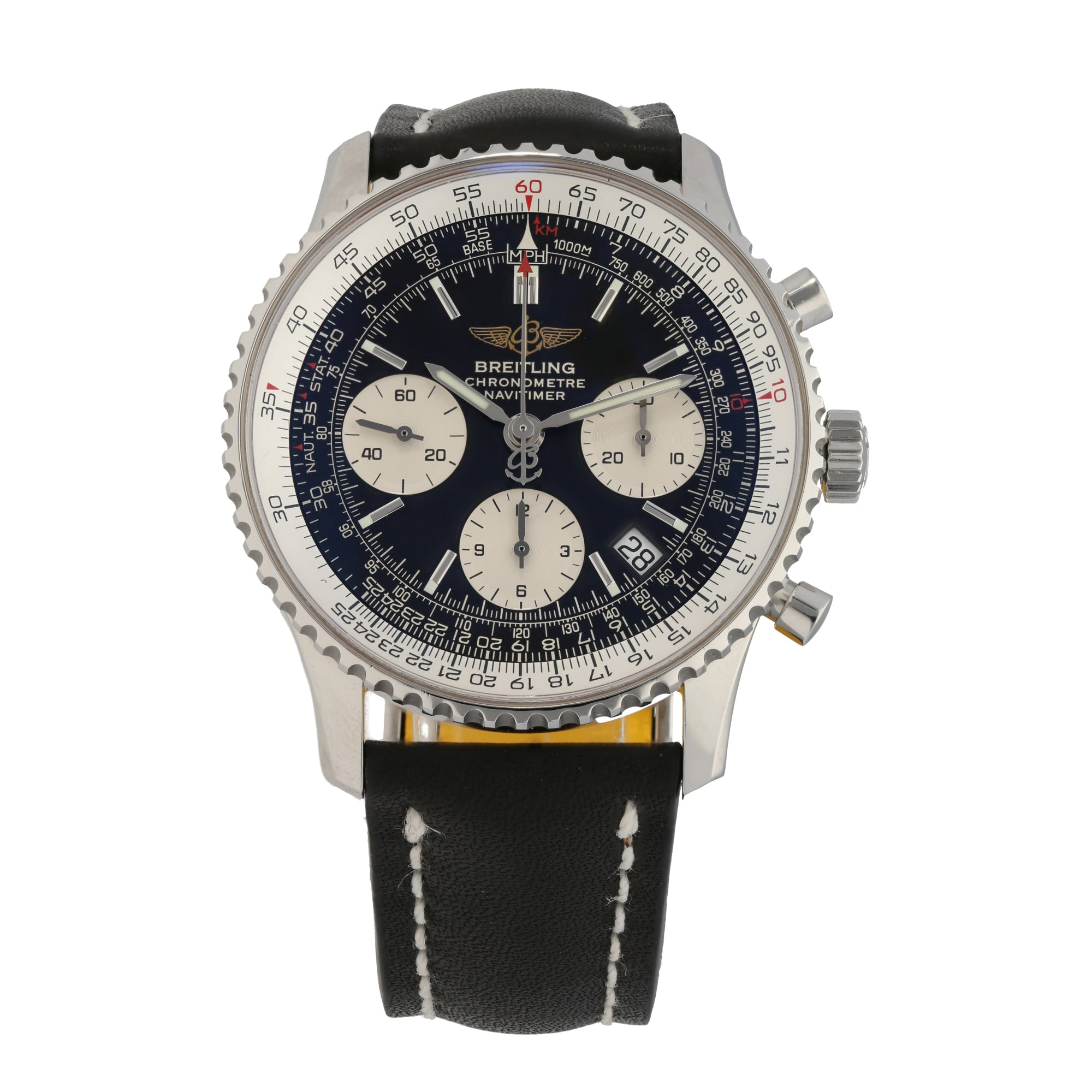 Breitling Navitimer A23322 42mm Stainless Steel Mens Watch