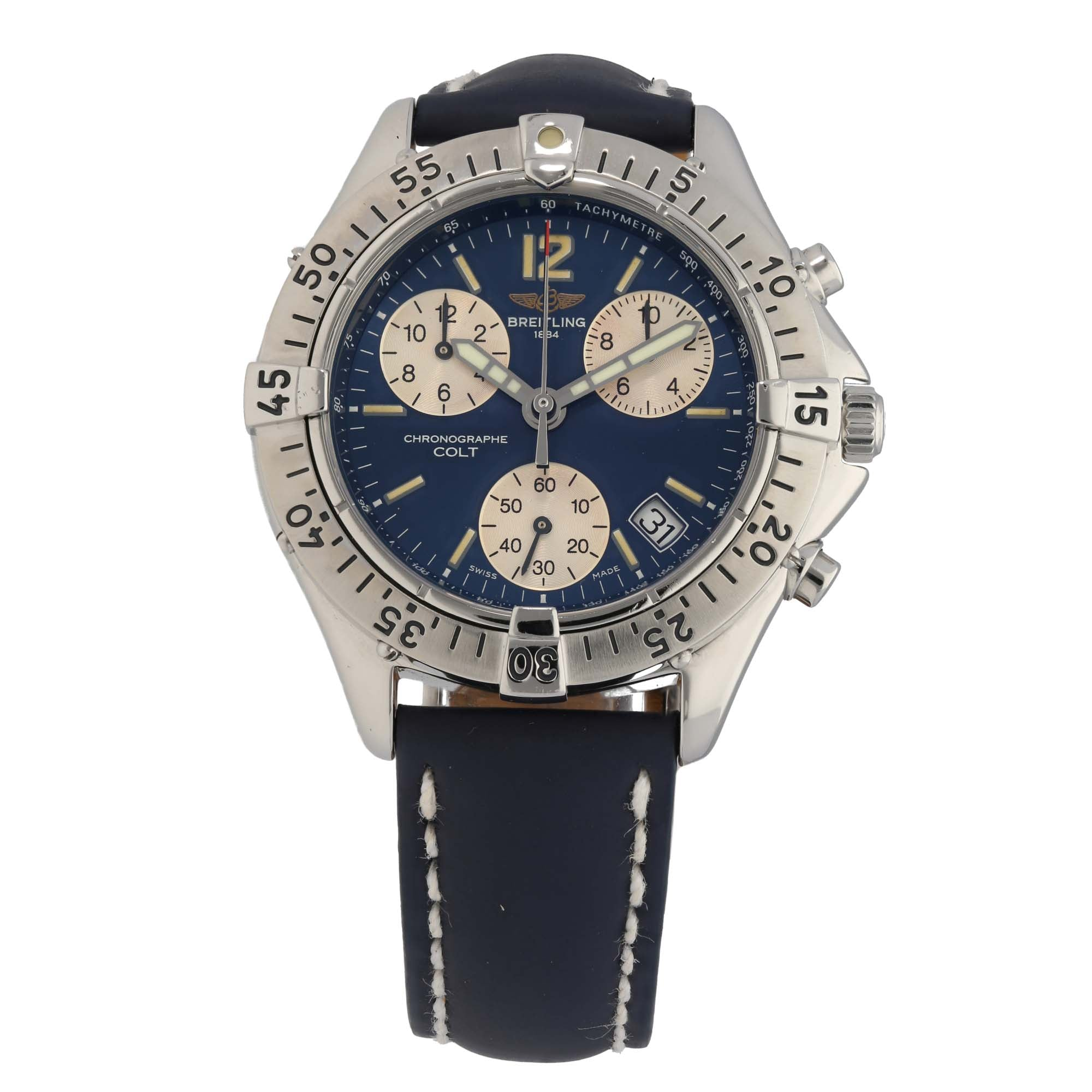 Breitling Colt A53035 38mm Stainless Steel Mens Watch