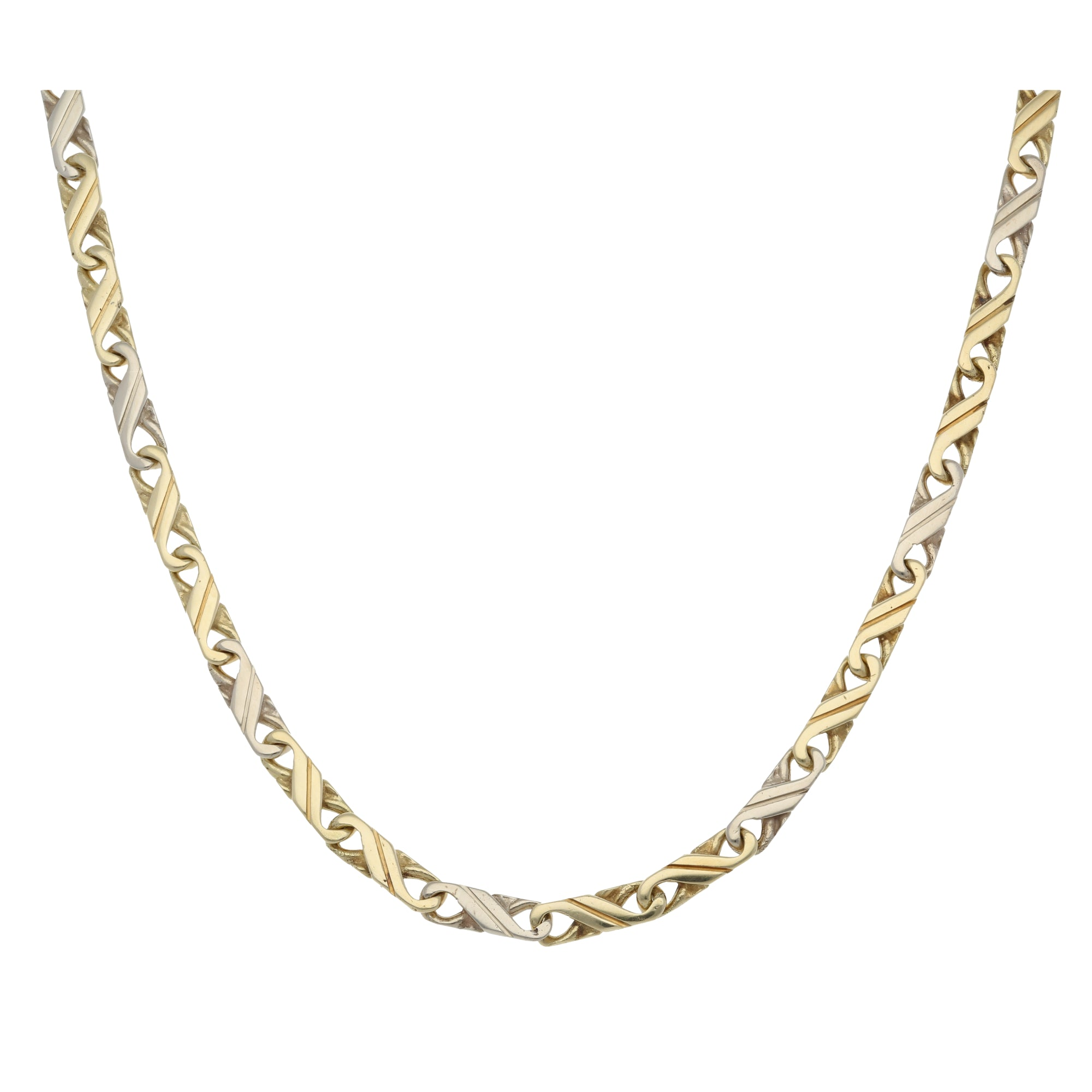14ct Bicolour Gold Ladies Other Chain 18