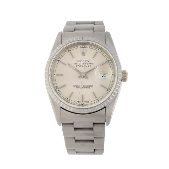 Rolex Datejust 16220 36mm Stainless Steel Mens Watch