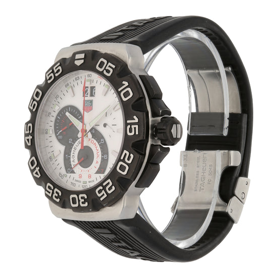 Tag Heuer F1 CAH1011 44mm Stainless Steel Mens Watch