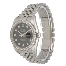 Load image into Gallery viewer, Rolex Datejust 116244 36mm Stainless Steel Mens Watch