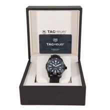 Load image into Gallery viewer, Tag Heuer Aquaracer Automatic WAY218A-0 Black Dial 41mm Mens Watch