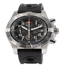 Load image into Gallery viewer, Breitling Avenger A13380 Steel & Grey 45mm Mens Watch