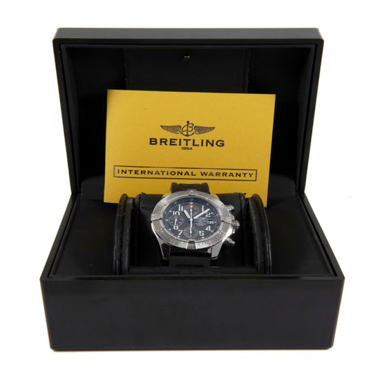 Breitling Avenger A13380 Steel & Grey 45mm Mens Watch