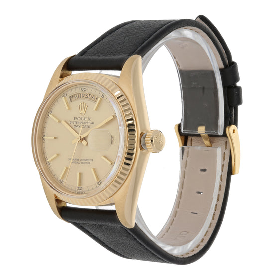 Rolex Day-Date 1803 36mm Gold Mens Watch