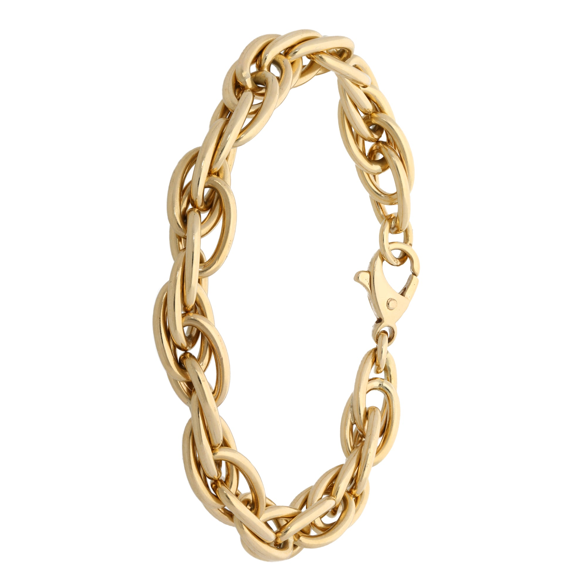 9ct Gold Ladies Alternative Bracelet